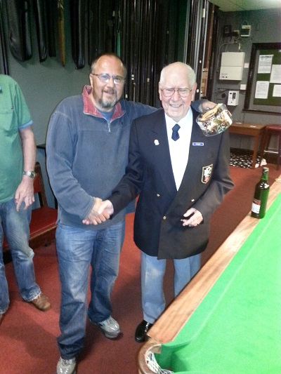 Snooker Runner Up - Alan
